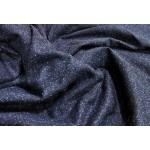 Fazenda lã azul mescla azul