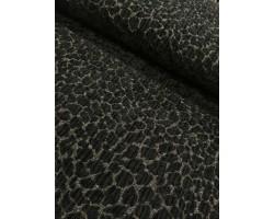 Brocado Efeito Jaquard Aveludado Tigresa 100% Polyester