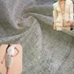 Magnifico Chanel Pérola Algodão com Fio Lurex Dourado