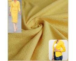 Magnifico Chanel Algodão Amarelo Canário