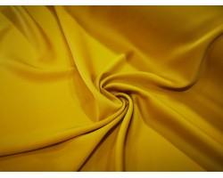 Novidade!  Fantástico Crepe Fluído Ligeiro Acetinado - Amarelo Mostarda