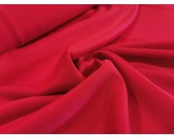 Novidade! Fantástico Crepe Fluído Ligeiro Acetinado - Vermelho