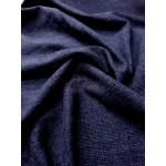 Fazenda 100% Lã Azul Marinho e Preto