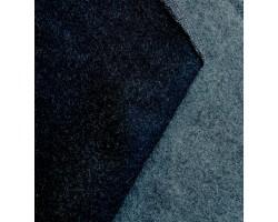 Melton Dupla Face Azul Marinho/Cinza