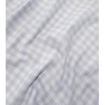 Flanelas 100% Algodão Xadrez Azul Bebé e Branco