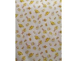 Fustão Babetes Amarelo