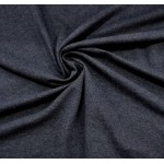 Malha Interlock 83% Polyester, 15% Viscose, 2% Lycra Azul Marinho