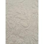 Malha Jaquard 80% Algodão, 20% Polyester Dupla Face Cinza Claro