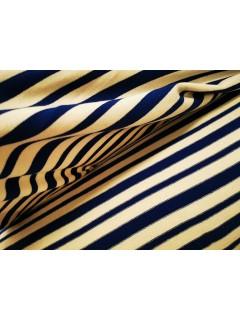 Promoção! Malha efeito tricot Azul/Branca