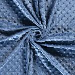 Minky Azul Índigo