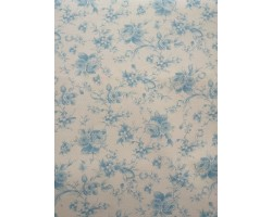 Piquet Floral Azul
