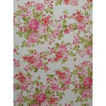 Piquet Floral Rosa/Verde