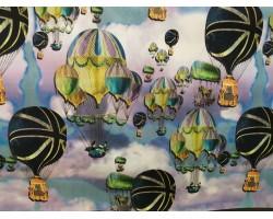 Plastificado Fino Balões Ar Quente