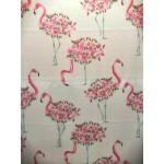 Seda Flamingos Rosas