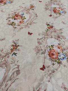 Lindíssimo Veludo Jacquard 100% Polyester Antiderrapante